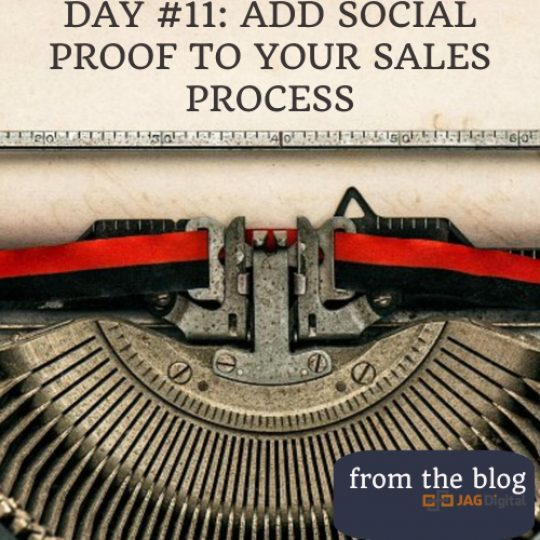 day 11: add social proof