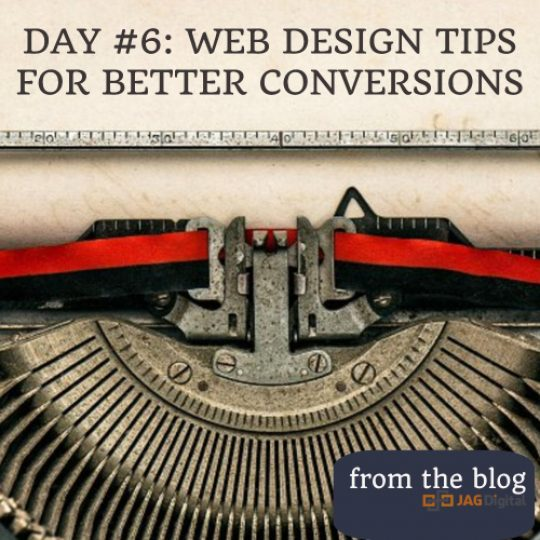 day 6: web design tips