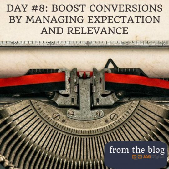 day 8: boost conversions